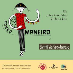 Forró Maneiro mit DJ Fábio Reis @ Löwenbräukeller