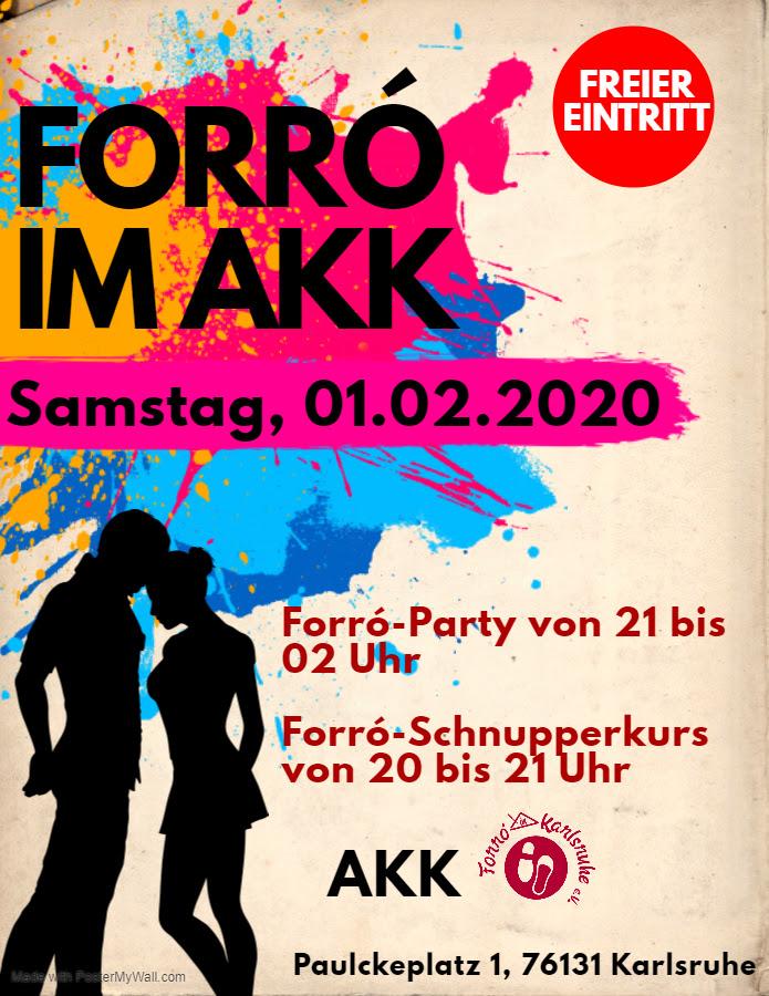 Forró im AKK (Feb 2020) @ AKK